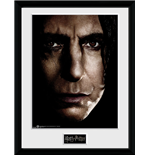 Harry Potter - Snape Face (Stampa In Cornice 30x40cm)