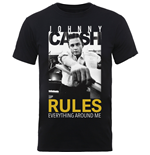 Johnny Cash - Rules Everything (T-SHIRT Unisex )