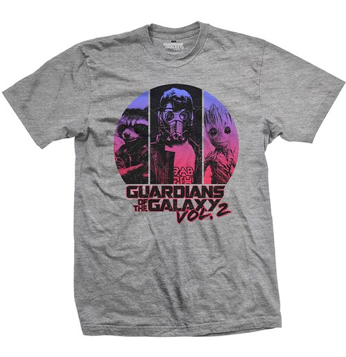 Marvel Comics - Guardians Of The Galaxy VOL. 2 THREE'S Up (T-SHIRT Unisex )