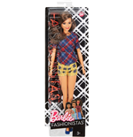 Mattel DVX74 - Barbie - Fashionistas - 52 Plaid