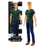 Mattel DWK45 - Barbie - Ken - Fashionistas - 4 Checked Style