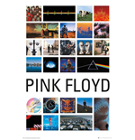 Pink Floyd - Collage 2 (Poster Maxi 61x91,5 Cm)