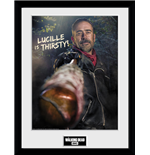Walking Dead (The) - Negan Thirsty (Stampa In Cornice 30x40cm)