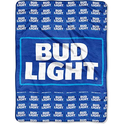 Coperta in Pile Bud Light