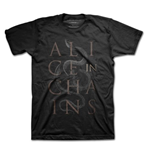 Alice In Chains - Snakes Black (T-SHIRT Unisex )