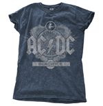 T-shirt AC/DC - Black Ice Blu