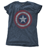 Marvel Comics - Avengers Assemble Cap (T-SHIRT Donna )