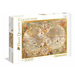 Puzzle 2000 Pz - High Quality Collection - Ancient Map