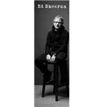 Ed Sheeran - Black And White (Poster Da Porta 53x158cm)