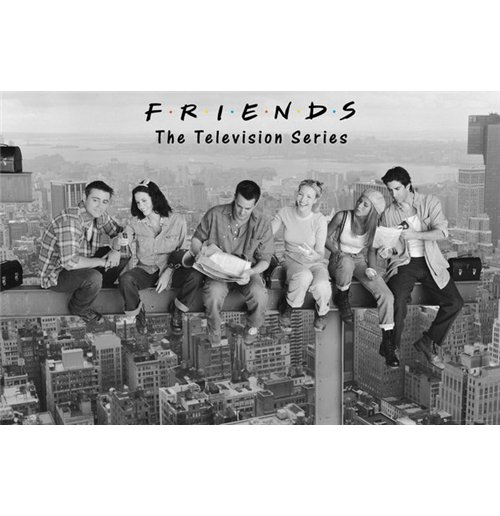 Friends - On Girder (Poster Maxi 61x91,5 Cm)