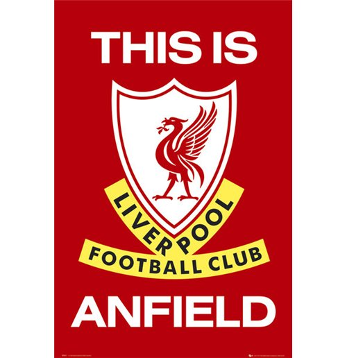 Poster Liverpool - This Is Anfield 61x91,5 Cm