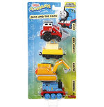Mattel DXT79 - Il Trenino Thomas - Adventures - Multipack - Jack And The Pack
