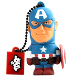 Marvel - Captain America - Chiavetta USB 16GB
