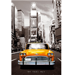 New York - Taxi No 1 (Poster Maxi 61x91,5 Cm)