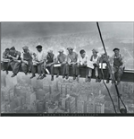 New York - Men On Girder (Poster Maxi 61x91,5 Cm)