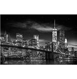 New York - Freedom Tower B & W (Poster Mini 40x50 Cm)