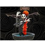 Nightmare Before Christmas - Jack Skellington Halloween Version Figure Altezza 17 Cm