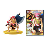 One Piece - Film Gold Figure Colosseum Scultures Big Special Monkey D. Luffy Figure Altezza 13 Cm