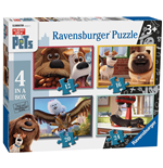 Ravensburger 07139 - Puzzle 4 In A Box - Pets
