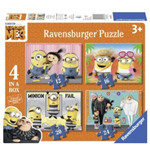 Ravensburger 06895 - Puzzle 4 In A Box - Minions