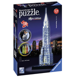 Ravensburger 12595 - Puzzle 3D Night Edition - Chrysler Building