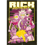 Rick And Morty - Action Movie (Poster Maxi 61x91,5cm)