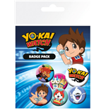 Yokai Watch - Mix (Badge Pack)