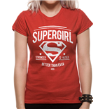 Batman V Superman - Stronger Faster (T-SHIRT Donna )