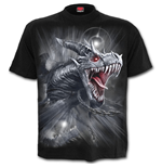 Spiral - DRAGON'S Cry - T-SHIRT Black (T-SHIRT Unisex )