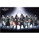 Assassin's Creed - Characters (Poster Maxi 61x91,5 Cm)
