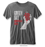 T-shirt Green Day da uomo - Design: American Idiot Vintage