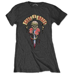 T-shirt Guns N' Roses da donna - Design: Dripping Dagger
