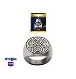 Doctor Who - Zinc Alloy Seal Of Rassilon (Anello Size 10)