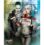 Suicide Squad - Joker And Harley Quinn (Poster Mini 40x50 Cm)