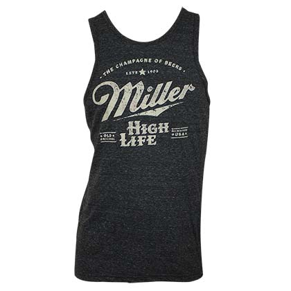 Canotta Miller Beer Distressed Logo
