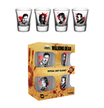 Walking Dead (The) - Characters New (Set 4 Bicchieri Piccoli)