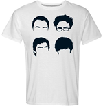 T-shirt The Big Bang Theory - Faces