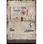 Game Of Thrones - Infographic (Poster Maxi 61X91,5 Cm)