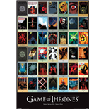 Game Of Thrones - Episodes (Poster Maxi 61X91,5 Cm)