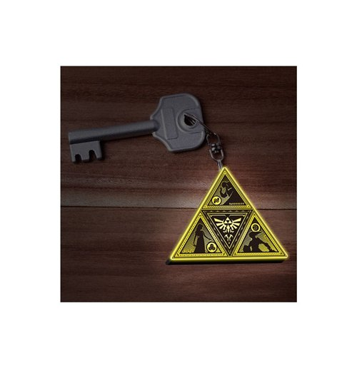 Legend Of Zelda (The) - Triforce Led (Portachiavi Luminoso)