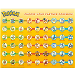 Pokemon - Partner Pokemon (Poster Mini 40x50 Cm)