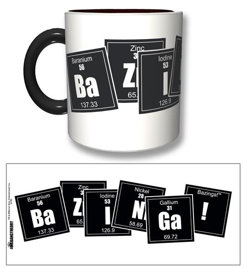Tazza The Big Bang Theory Bazinga Formula Black