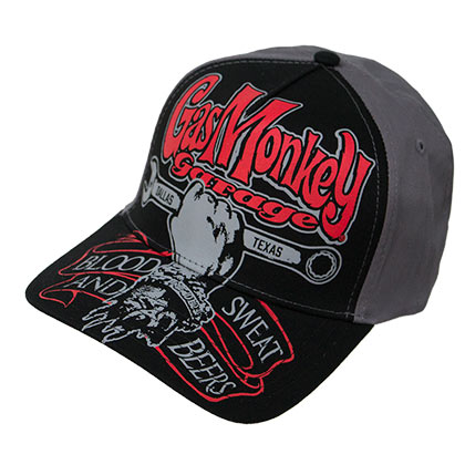 Cappellino Gas Monkey Garage Texas Automobile