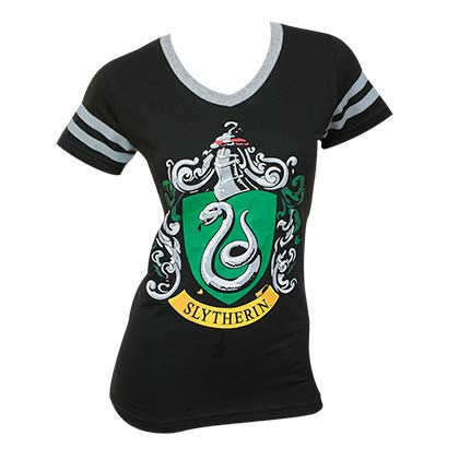 T-shirt Harry Potter Slytherin da donna
