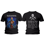 T-shirt Iron Maiden Axe Eddie Book of Souls European Tour (Version 2)