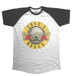 T-shirt Guns N' Roses da uomo - Design: Circle Logo