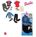 Mattel CFY02 - Barbie - Ken Fashion - Vestiti Ken (Assortimento)