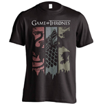 T-shirt Il trono di Spade (Game of Thrones) Sigils Banner