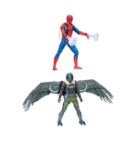 Action Figures Spider-Man Homecoming Web City Deluxe Action Figures 15 cm 2017 Wave 1 Assortimento (4)