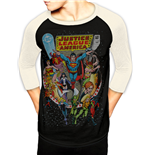Justice League - Cover (baseball Shirt Unisex )